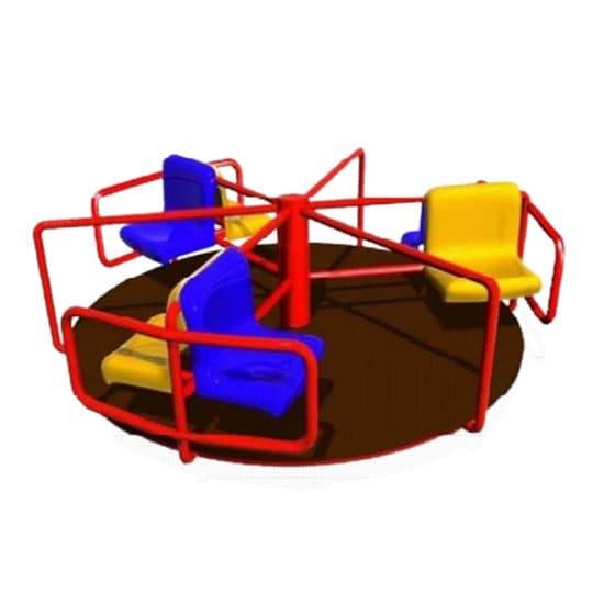 Карусель для детской площадки Азарт СКИ 019