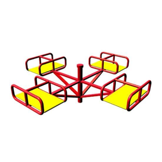 Карусель для детской площадки Малыш 2 СКИ 016