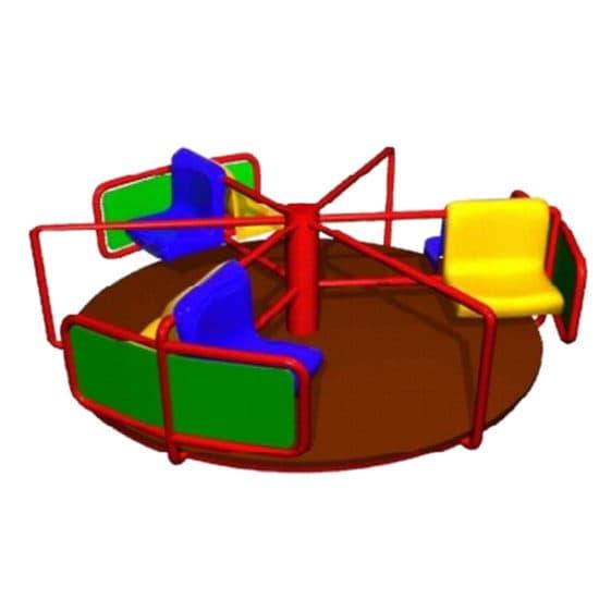 Карусель для детской площадки Веселая СКИ 013