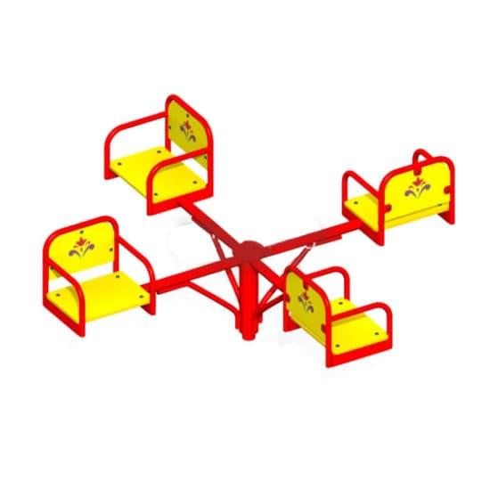 Карусель для детской площадки Малыш 1 СКИ 017