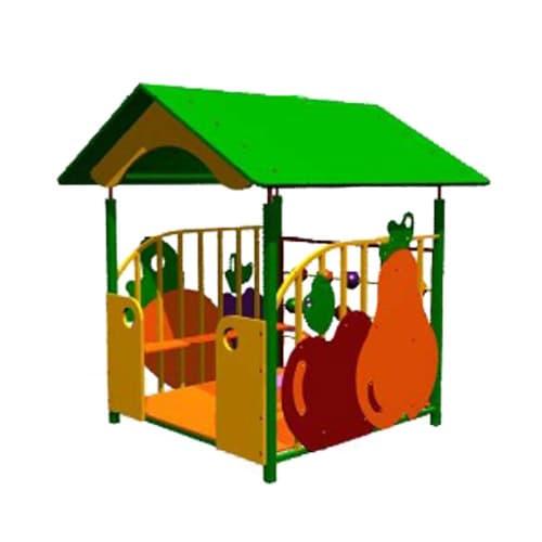 Беседка домик для детской площадки Магазин СКИ 066