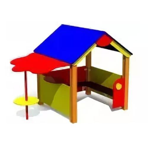 Домик для детской площадки с навесом СКИ 127