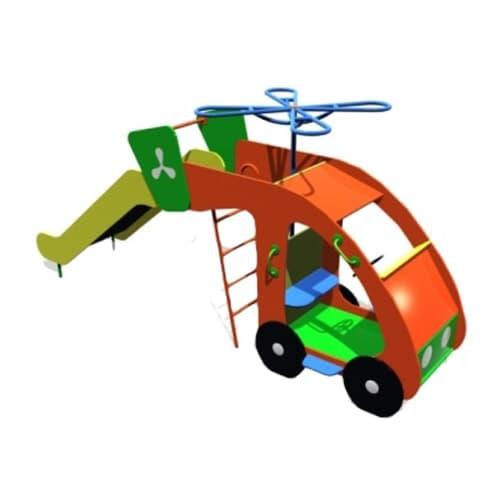 Горка детская Вертолет СКИ 076