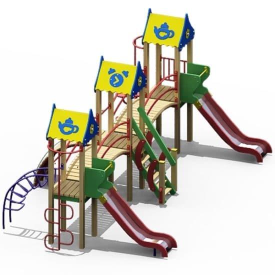 Детский Игровой комплекс ДК-10 СКИ 092