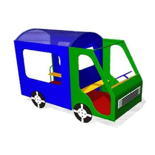 Домик - Машинка для детской площадки Фургон СКИ 073