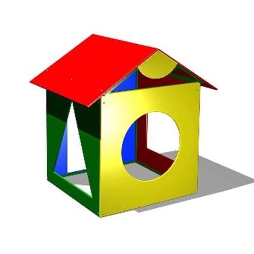 Беседка домик для детской площадки Геометрия СКИ 059