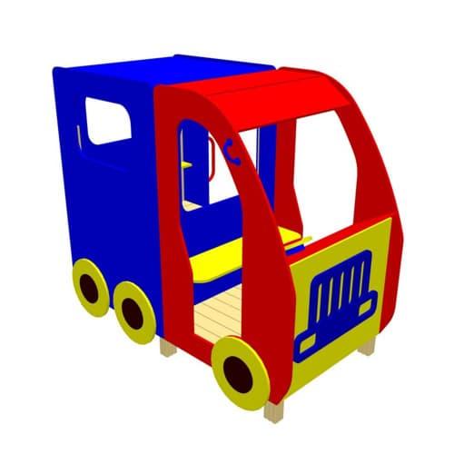 Беседка - машинка для детской площадки Грузовоз СКИ 053