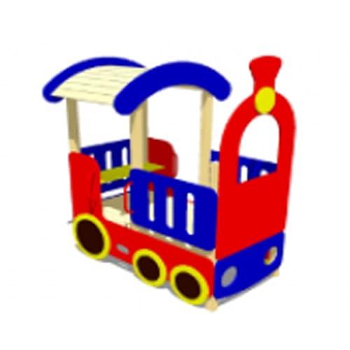 Домик для детской площадки Локомотив СКИ 055