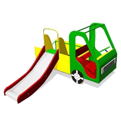 Домик для детской площадки Машинка СКИ 071