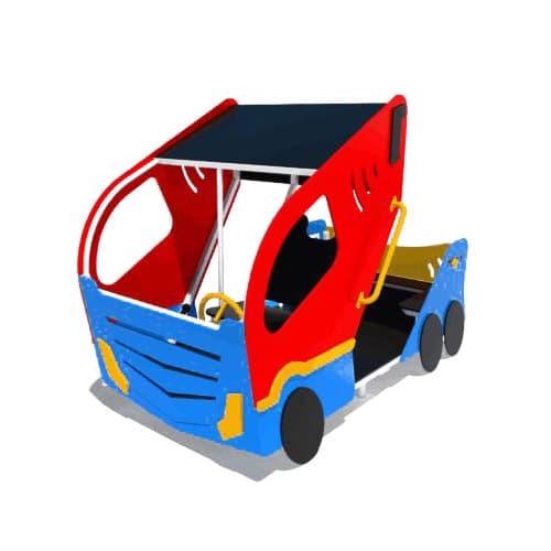 Машинка для детской площадки Турбо СКИ 054