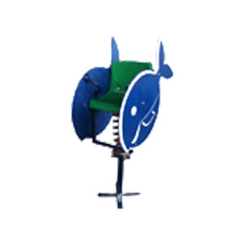 Качалка на пружине для детской площадки КИТ СКИ 032