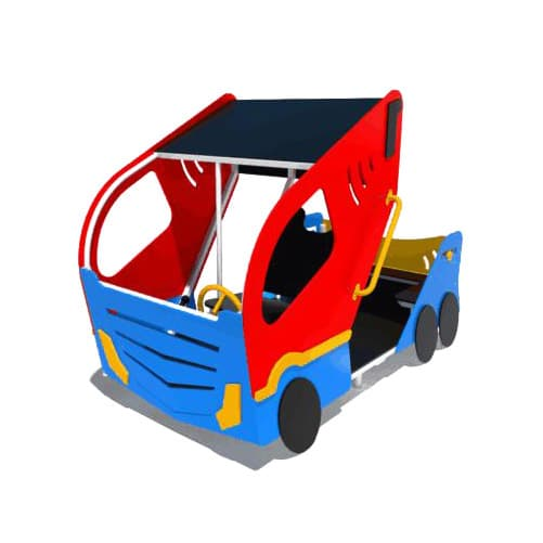 Качалка на пружине для детской площадки Турбо СКИ 109