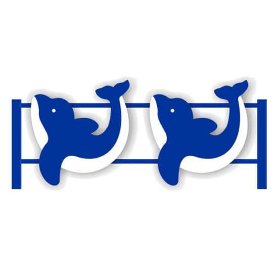 Ограждение детской площадки Дельфины СКДО 2