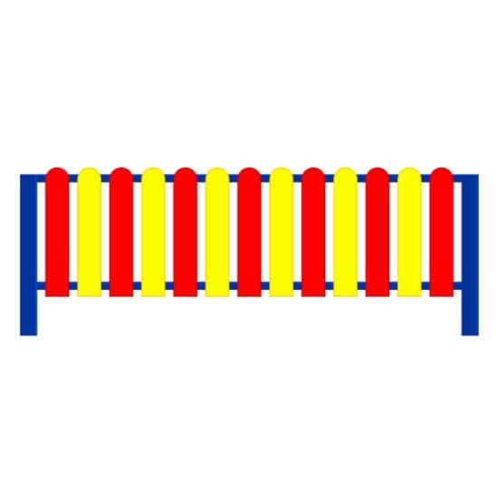 Ограждение Штакетник СКДО 3 для детской площадки