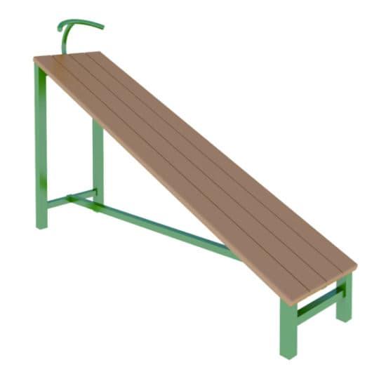 Скамья наклонная гимнастическая СКС 027