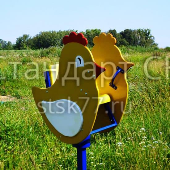 Качалка на пружине Цыпленок СКИ 029