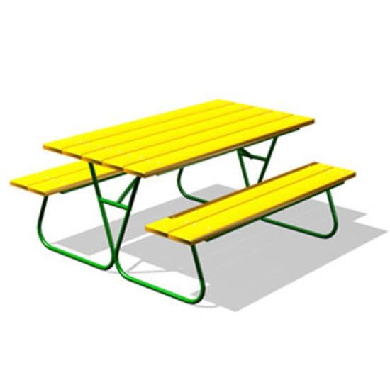 Стол со скамьями СКП 068