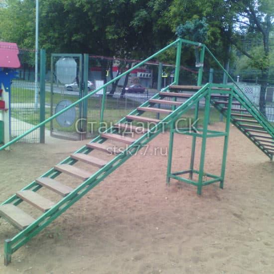 Лестница для собак СКП 086