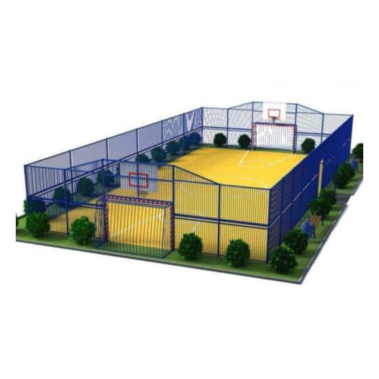 Универсальная спортивная площадка СКС 081