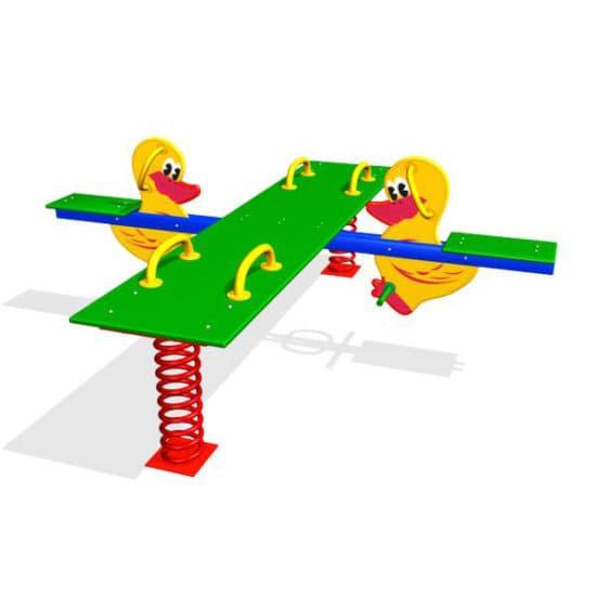 Качели балансир для детской площадки Утята ЗНКЧ 028