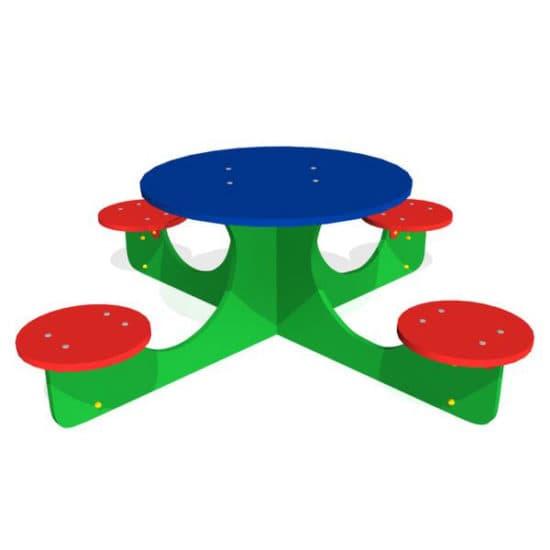 Стол для детской площадки Крестик ЗНСП 054