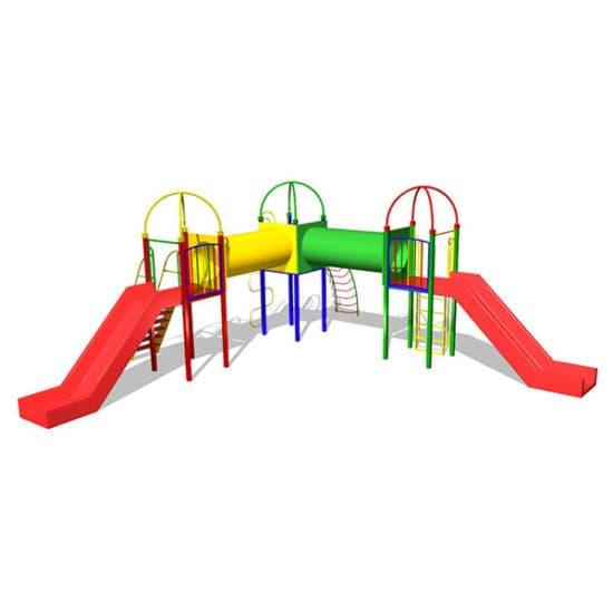 Детский игровой комплекс Черный носорог ЗНКД009