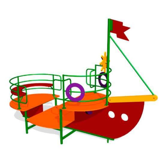 Кораблик на детскую площадку Катерок ЗНИМ 088