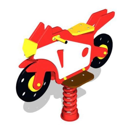 Качалка на пружине Мотоцикл ЗНКЧ 054