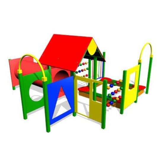Детский игровой комплекс Карликовый лемур ЗНКД002