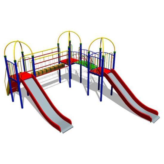 Детский игровой комплекс Снежный барс ЗНКД014