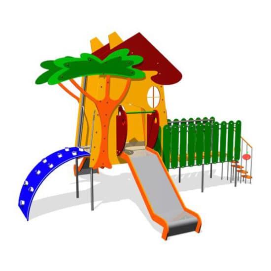 Детский игровой комплекс Домик из Простоквашино ЗНКД048