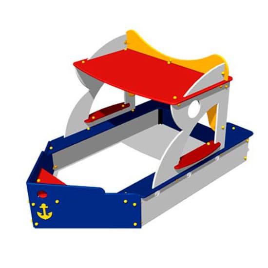 Детская песочница Кораблик ЗНП011