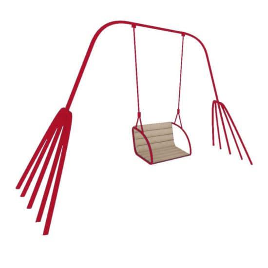 Качели для детской площадки Краб СКИ 002-К