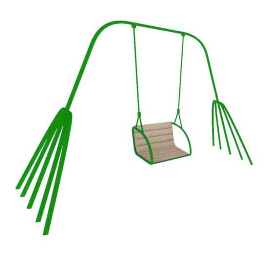 Качели для детской площадки Краб СКИ 002-З